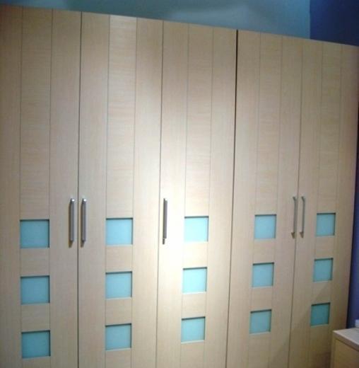 诺捷板式家具系列-二门衣柜-6A006B+6A214-B6A006B+6A214-B