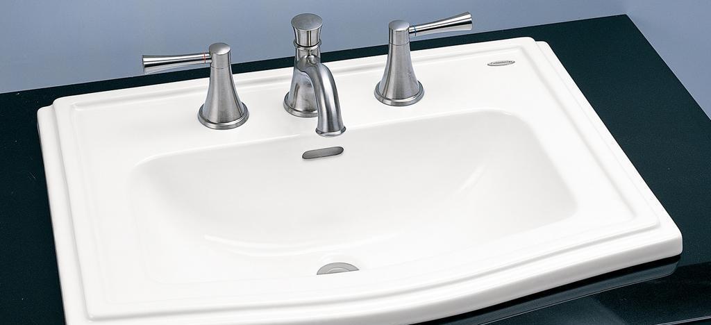 TOTO新世经典系列台上洗面盆LW781BLW781B