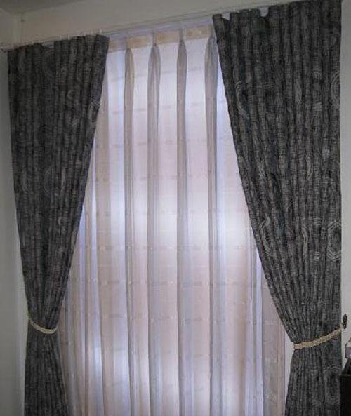 藤川布老虎麻布卧室客厅餐厅书房窗帘麻布卧室客厅餐厅书房