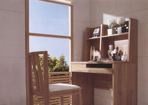 森盛家具书房套装浅胡桃系列29(电脑台)S7005