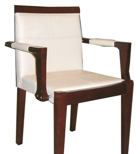 美凯斯客厅家具经典恋人系列扶手椅M-C404W(8816M-C404W(8816白色真皮..