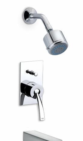 乐家卫浴摩爱系列入墙式浴缸淋浴龙头5A0646C0N5A0646C0N