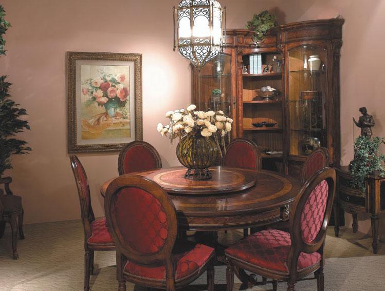 大风范家具路易十六餐厅系列LV-712-2圆桌LV-712-2圆桌