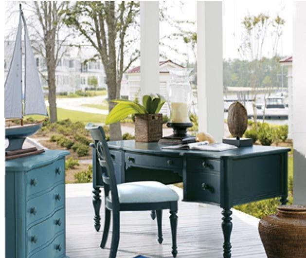 奥汀堡艺术家具地中海AD6211实木家具书桌AD6211