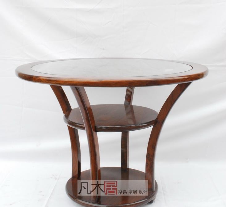 凡木居A4026花板圆桌A4026