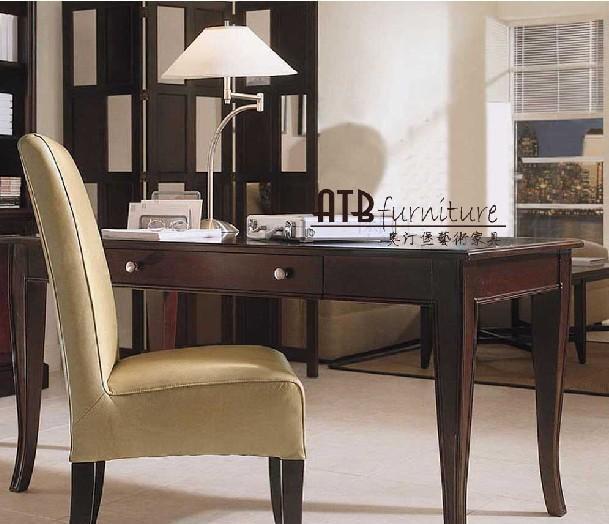 奥汀堡艺术家具阿瑞斯系列A2301美式家具书桌A2301