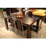 国安佳美餐桌黑橡系列34J0109