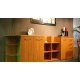 健威家具-加州缘系列-梨木物柜(多格)