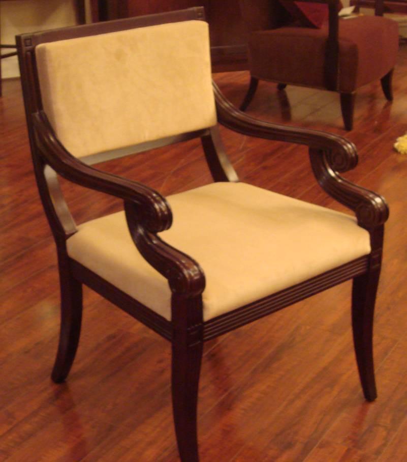 美凯斯客厅家具经典恋人系列扶手椅M-C783W(SD0M-C783W(SD01-3)
