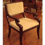 美凯斯客厅家具经典恋人系列扶手椅M-C783W(SD0