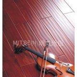 明成卡雅楝(桃花芯木)实木地板(仿古2)