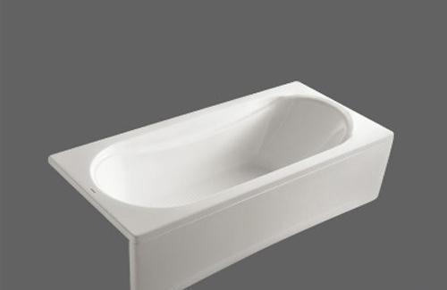 美加华压克力单裙浴缸M-1722Q(塑料浴缸去水1个)M-1722Q