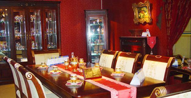 标致餐厅家具-德曼系列-餐桌餐椅1餐桌餐椅1