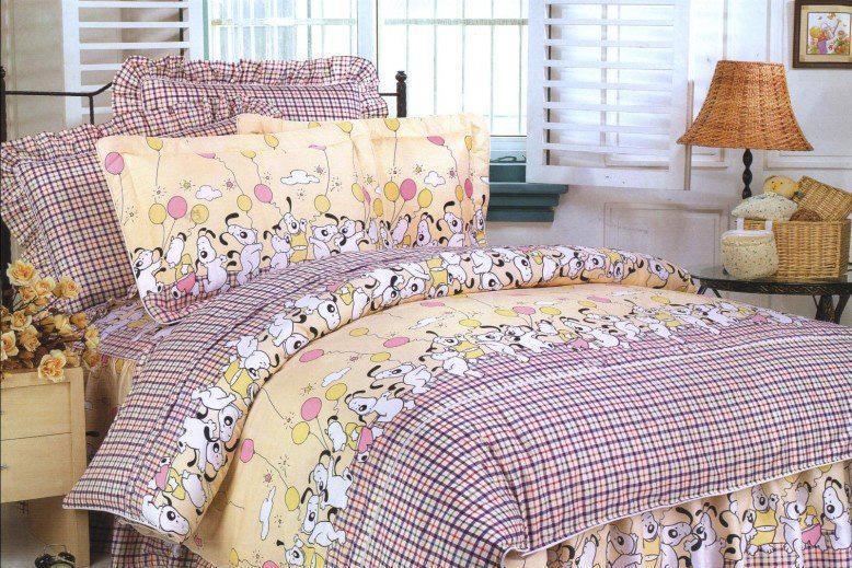 梦洁家纺全棉花边三件套(1.2和1.5床用)16号三件套