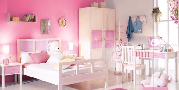 星星索S7205-12儿童粉红床S7205-12