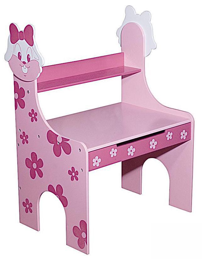 图图佳佳图图宝宝系列RJU00475小兔书桌(粉色)