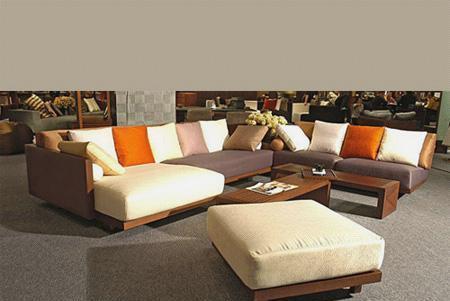 北山家居客厅家具转角沙发1SD321AD1SD321AD