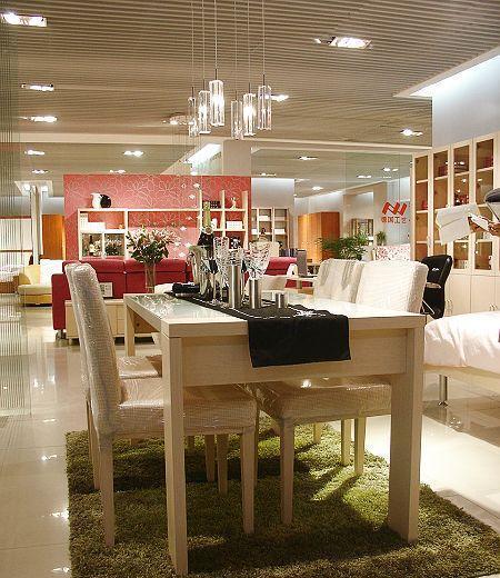 诺捷餐厅家具餐桌1500*800*760mm白枫