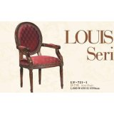 大风范家具路易十六餐厅系列LV-721-1扶手椅