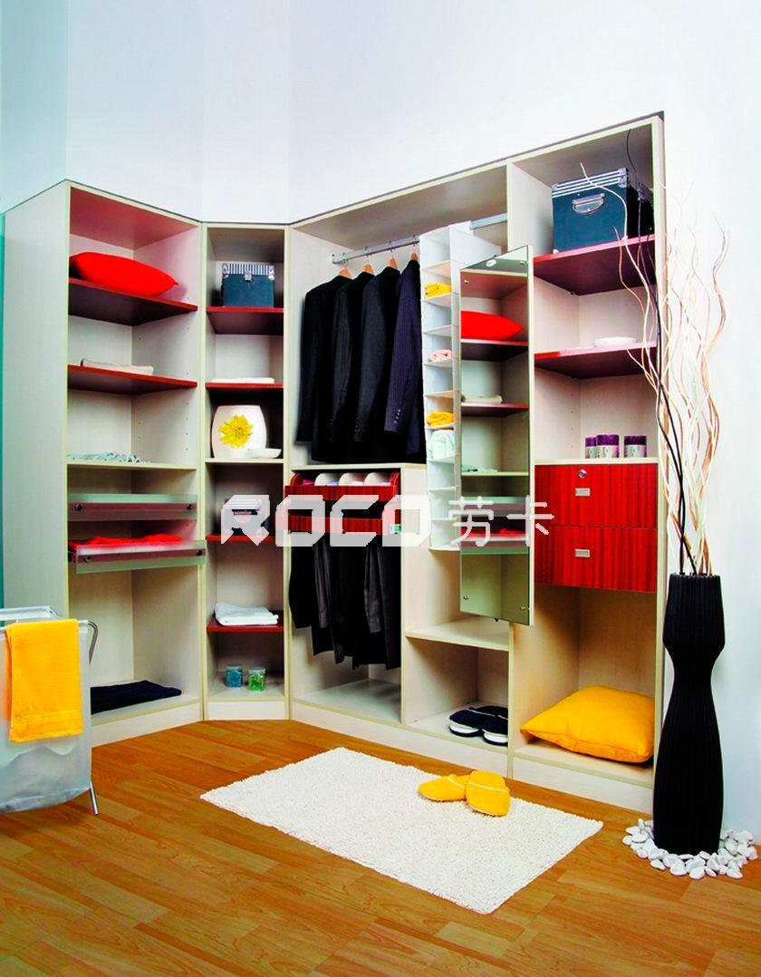 劳卡整体衣柜卧室系列007卧室系列007