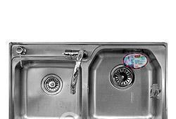 欧琳海纳威系列双盆水槽套餐OL-H9810SETOL-H9810SET