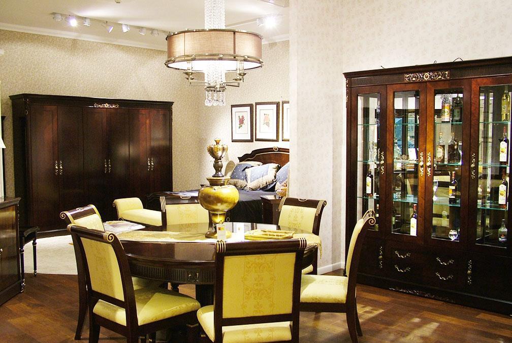 标致餐厅家具-德曼系列-餐桌餐椅2餐桌餐椅2