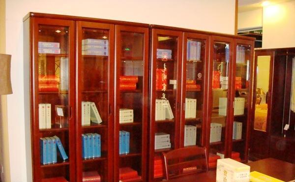 光明实木书房家具系列-三门书柜001-6312-1244001-6312-1244