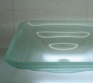 古亚单层玻璃盆D252