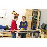 芙莱莎儿童松木家具电动绘图桌238013