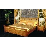 华源轩- 卧室家具-黄金柚系列-床头柜-R1802B