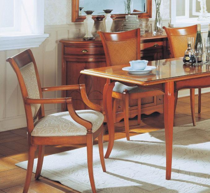 大风范家具新洛可可餐厅系列RC-720-1扶手椅RC-720-1扶手椅