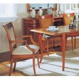 大风范家具新洛可可餐厅系列RC-720-1扶手椅