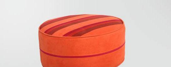 麦斯得尔小组件系列托比圆墩r01橙色条纹r01