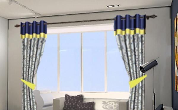 布易窗帘现代时尚系列那时花开-心海荡漾那时花开-心海荡漾