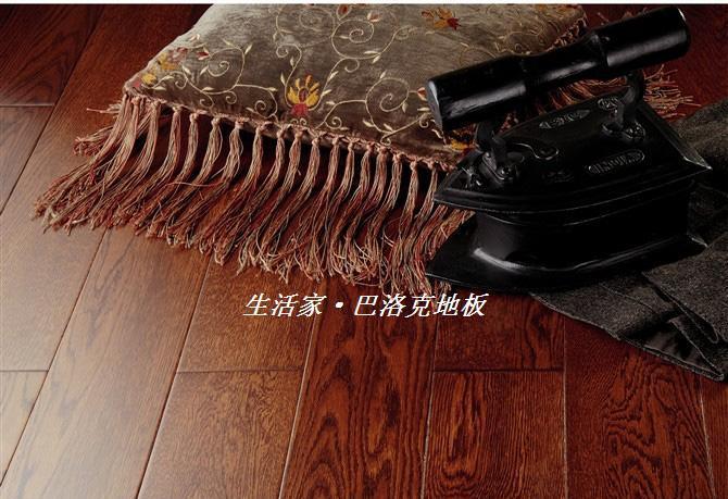 生活家巴洛克系列欧洲橡木实木复合地板(威士)欧洲橡木