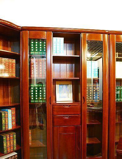 国盛书房家具D三门书柜S1306S1306