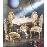 罗浮居餐桌合意大利SILIK家具S-P191