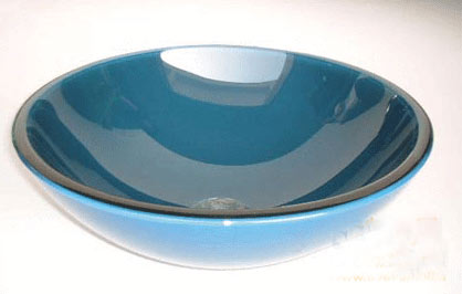 古亚双层玻璃盆S168