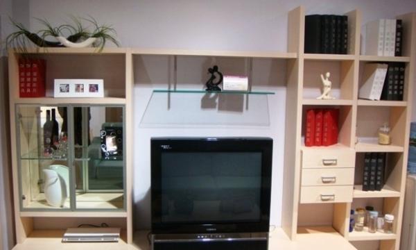 诺捷板式家具系列客厅柜-6F002-26F002-2