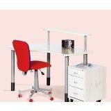 丹麦芙莱莎儿童家具书桌组合ALFRED(白色)
