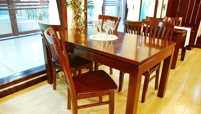 国盛餐厅家具大方圆桌CT24CT24