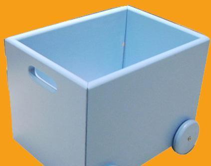 雅琴居儿童带轮小木盒S829-H2S829-H2