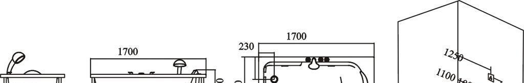 英皇按摩浴缸CW-1700-2CW-1700-2