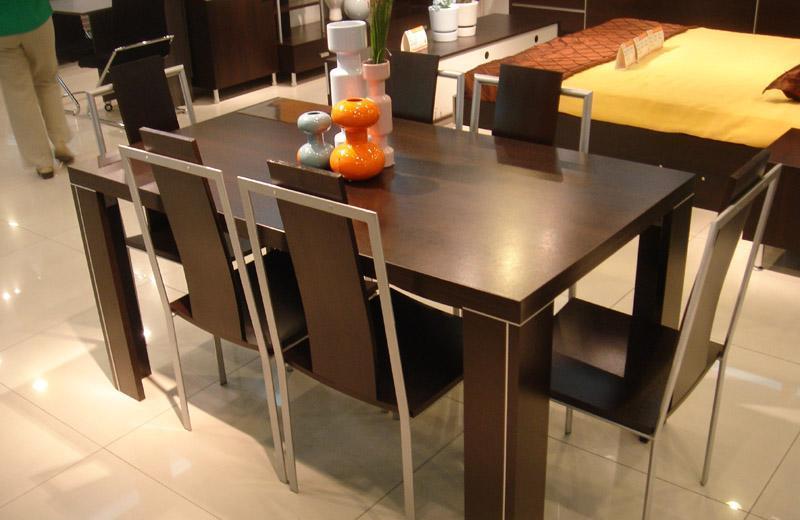 国安佳美黑橡系列 餐桌J0109J0109
