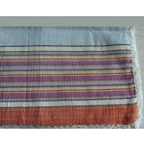家元素SSL22394老粗布布席纯棉枕套