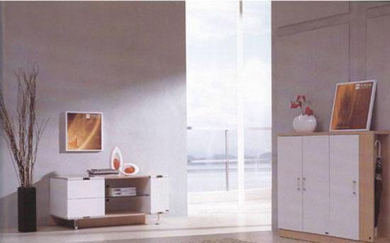 森盛家具客厅套装白榉系列26(地柜)F012