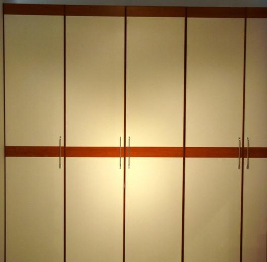 诺捷板式家具系列-五门衣柜7A006-B+7A010-B+7A27A006-B+7A010-B+7A