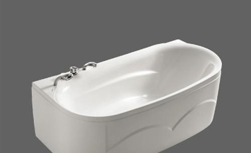 美加华压克力五金件双裙浴缸M-1728SQ(含去水/带M-1728SQ