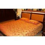光明实木卧室家具系列-001双人床