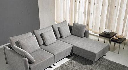 北山家居客厅家具多人沙发1SC281AD组合1SC281AD组合